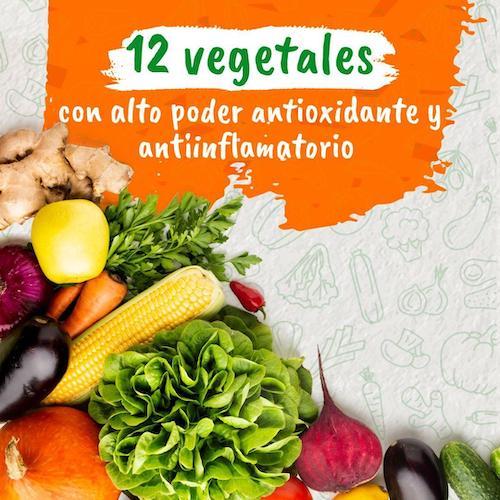 12 vegetales con alto poder antioxidante y antiinflamatorio